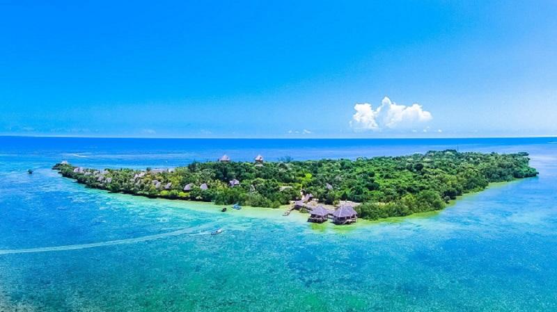 Chale Island in Kenya