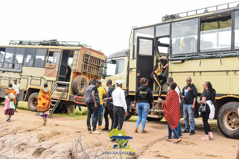 Joining Safaris in Kenya