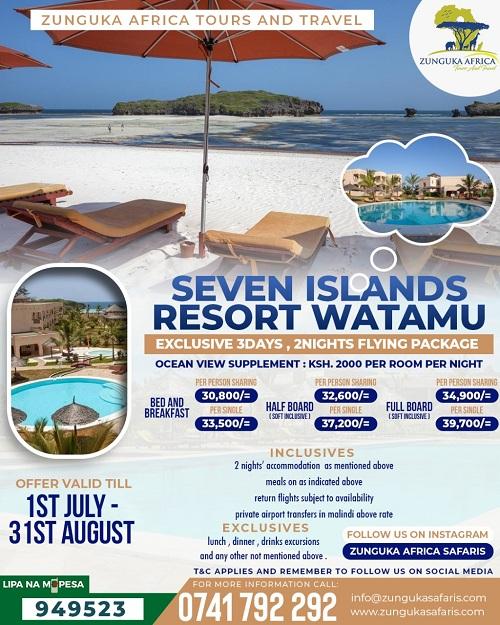 Seven Islands Resort Watamu
